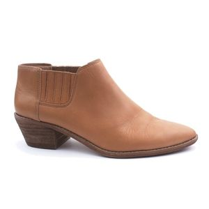 MADEWELL Size 7.5 The Myles Ankle Boots in Leather